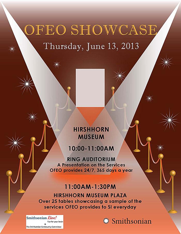 Smithsonian Live! OFEO Showcase