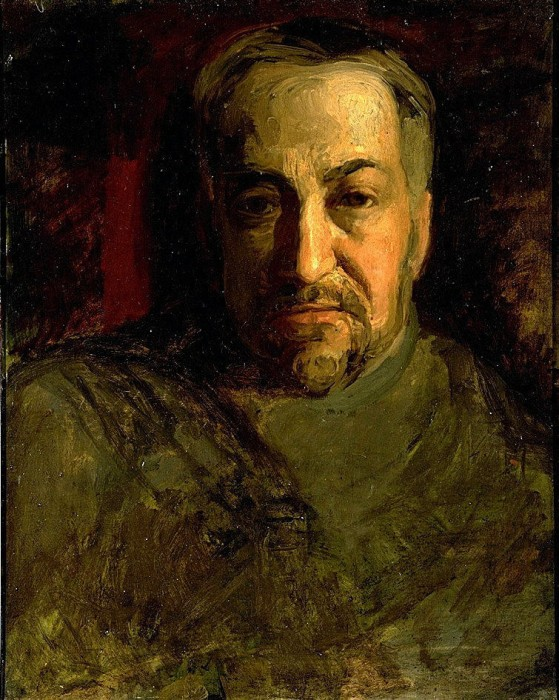 Thomas Eakins, self-portrait, ca. 1902