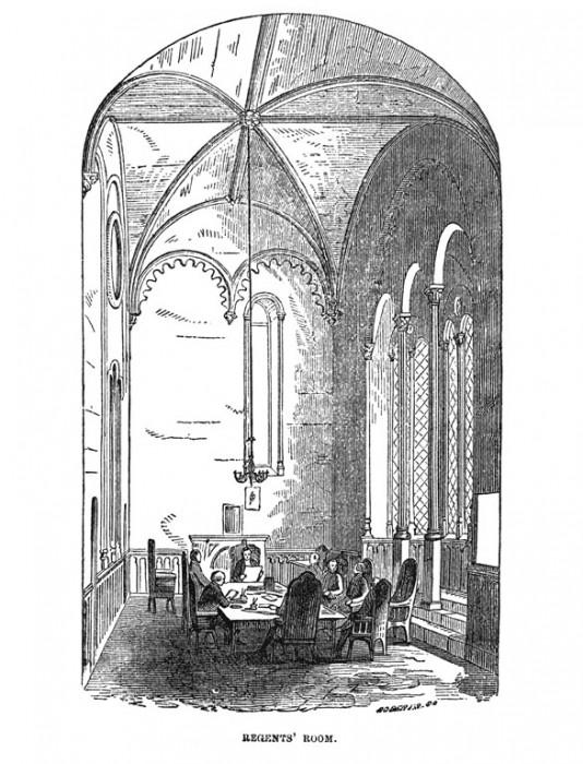 Engraving, Regents room