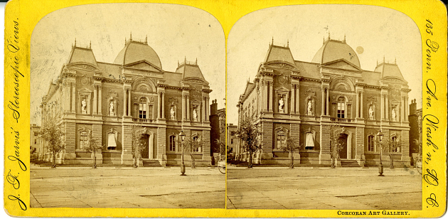 Exterior of Renwick Gallery, 19th century