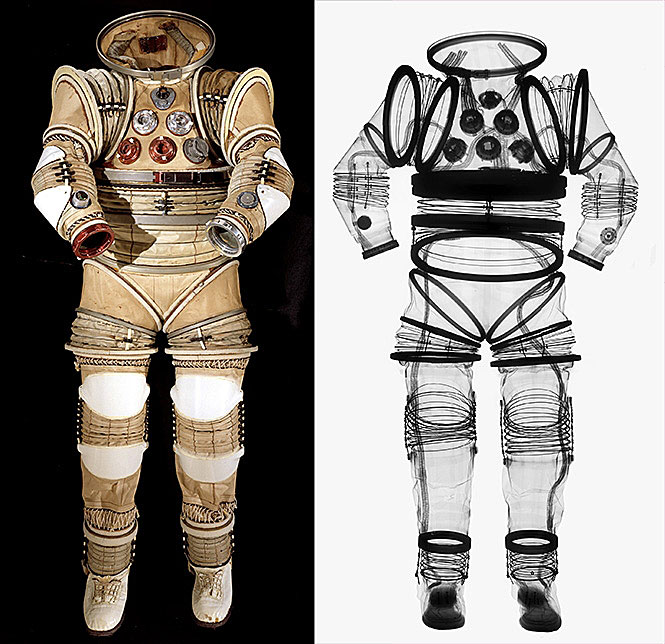 X-rayed Spacesuit, 2008