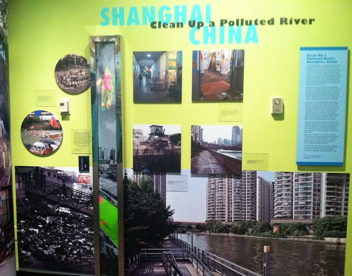 """The U.S. Consulate in Shanghai assisted the Anacostia Community Museum in  developing the museum's exhibit """"Reclaiming the Edge:  Urban Waterways and Civic  Engagement"""""""