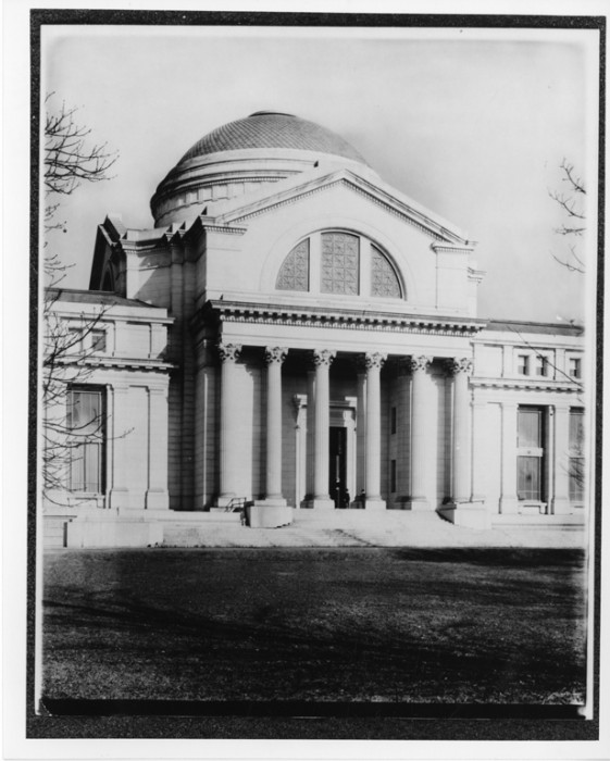 National Museum of Natural History, historic photographs, south entrance