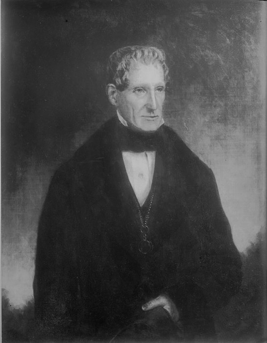 Richard Rush, painted by Thomas Waterman Wood, 1856. (Photo courtesy National Portrait Gallery and Smithsonian Institution Archives)