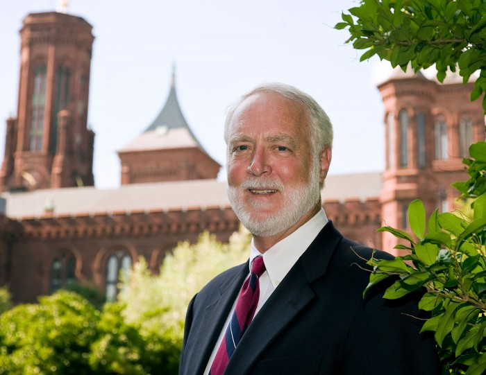Dr. G. Wayne Clough, 12th Secretary of the Smithsonian Institution. (Photo by Carl Hansen)