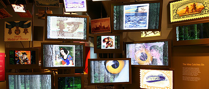 Behind the scenes at the largest stamp gallery in the world