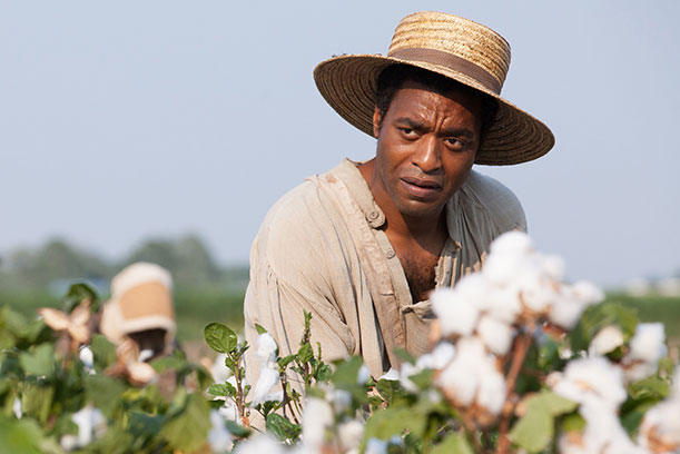 """Chiwetel Ejiofor as Solomon Northup in """"12 Years a Slave""""."""