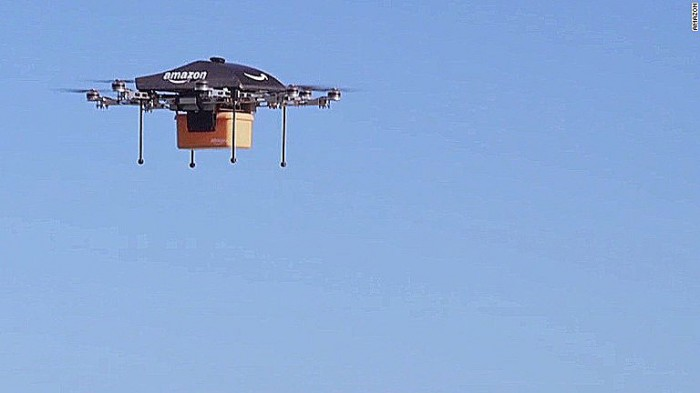 Amazon's door-to-door delivery drones–Doable?