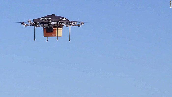 Amazon's door-to-door delivery drones–Doable?
