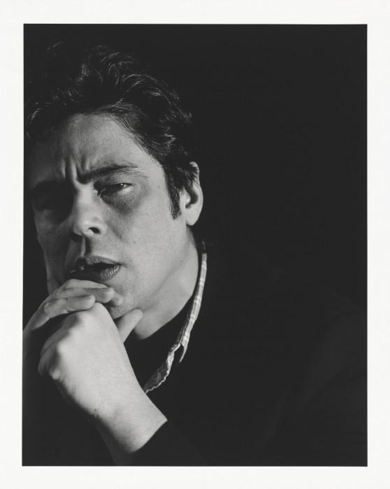 Portrait of Benicio del Toro