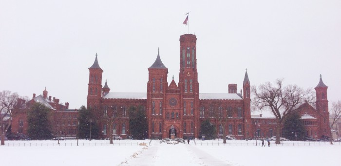 The epitome of cool: The Smithsonian Castle. -- Submitted by Secretary Wayne Clough