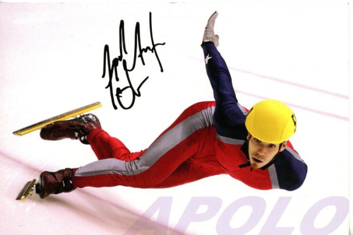 Apolo Anton Ohno at the 2006 Torino games