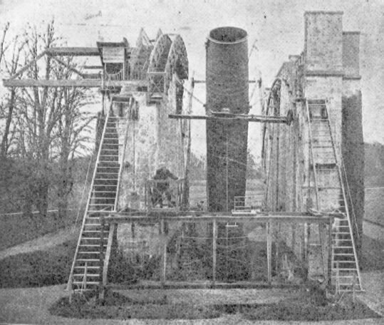 The largest telescope of the 19th century, the Leviathan of Parsonstown. (Photographer unknown, prior to 1914 PD-US)