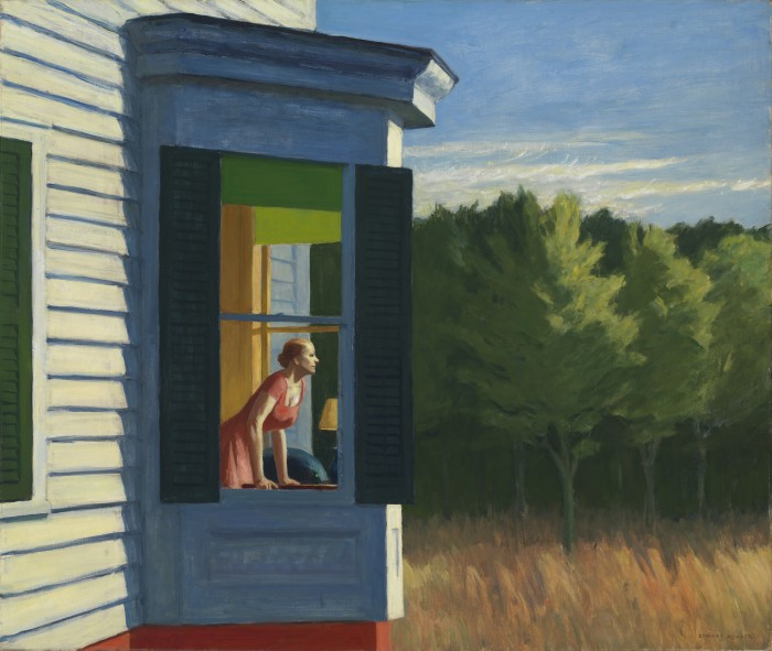 Edward Hopper, Cape Cod Morning, 1950, oil, Smithsonian American Art Museum, Gift of the Sara Roby Foundation