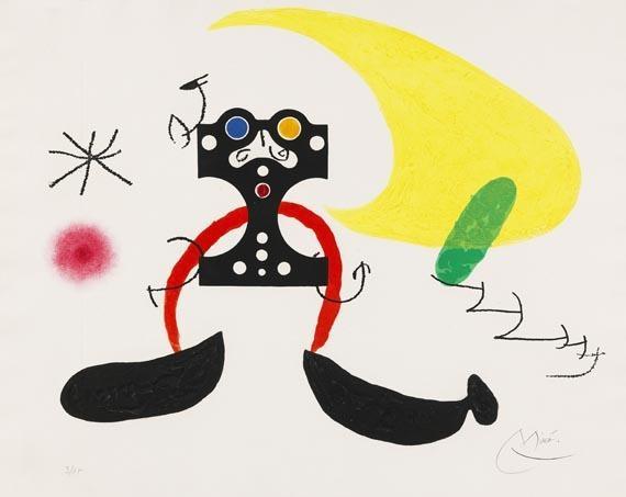 Joan Miró, Cosmonaut, (n.d.) Hirshhorn Museum and Sculpture Garden, Smithsonian Institution, Washington, DC, The Joseph H. Hirshhorn Bequest, 1981
