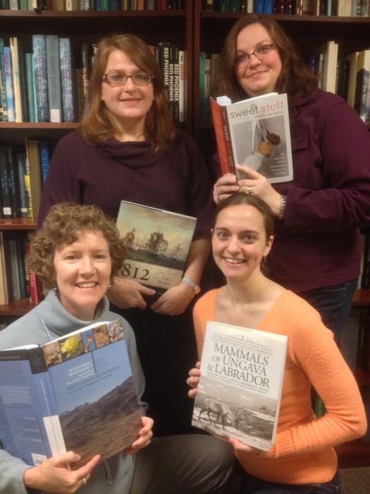 From left, Back row: Ginger Strader (director) and Deborah Stultz. Front row, Meredith McQuoid-Greason and Stephanie Summerhays
