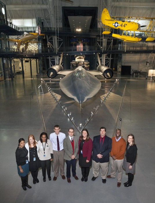 Visitors Services Division at  the Air and Space Museum
