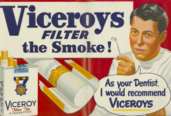 Viceroys cigarette ad