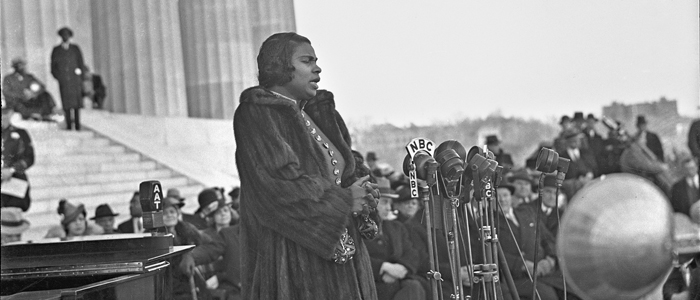 It wasn't only Marian Anderson's voice that dazzled the crowd in 1939