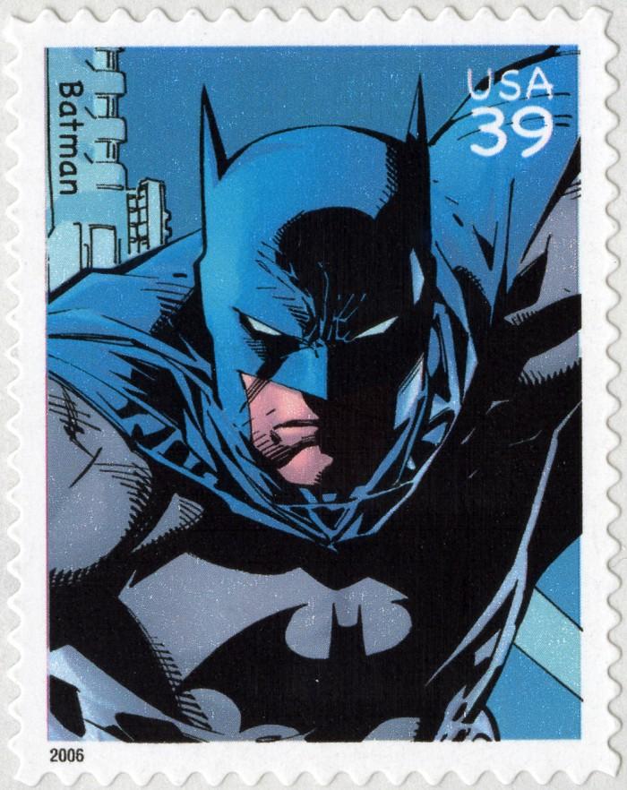Batman stamp, 2006