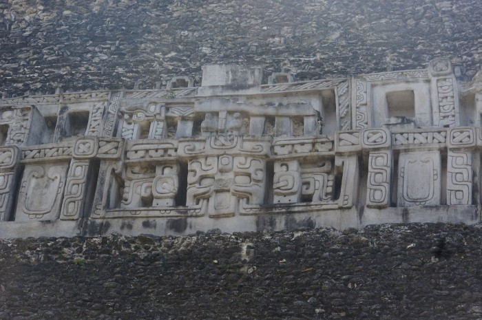 Frieze on El Castillo, Xuantunich, Belize