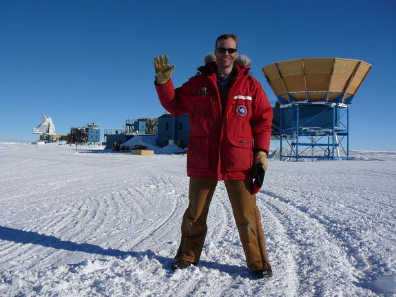 John Kovac at the South Pole