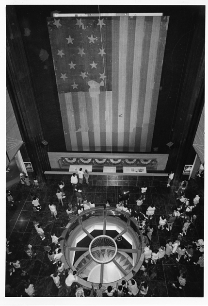 Star-Spangled banner at American History in 1993