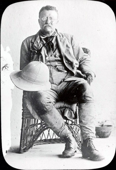 Teddy Roosevelt, c. 1909. Image from Smithsonian Institution Archives