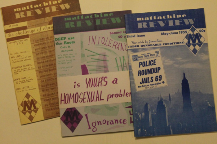 """The Mattachine Review,"" published in Los Angeles by the Mattachine Society, grew out of the homophile movement. LGBT communities became more numerous, political, and open in the mid-20th century."