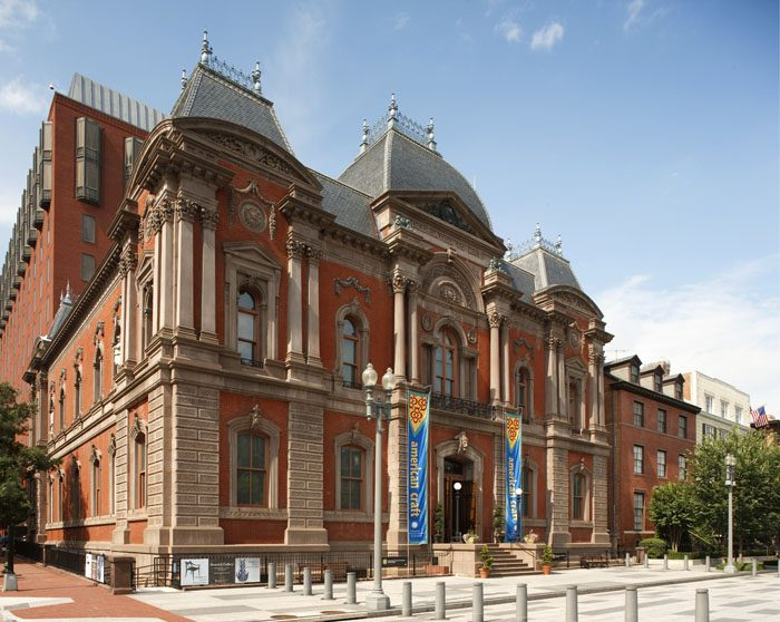 Renovated Renwick Gallery of Art exterior