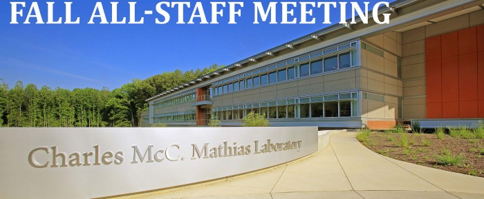 Highlights from the Fall All-Staff Meeting