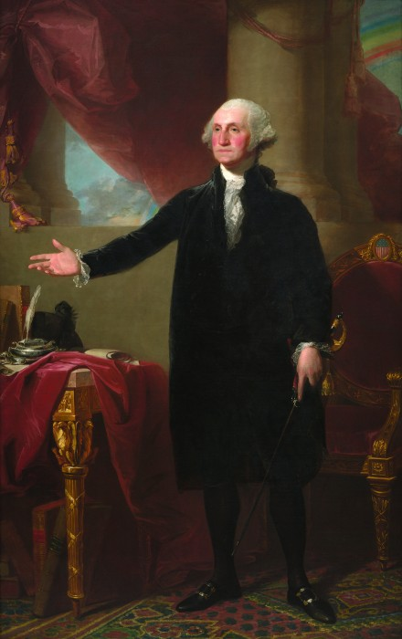 lansdowne portrait of George Washington