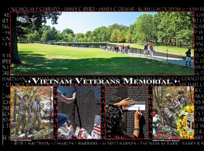 remembrance of the more than 58,000 men and women who died during the Vietnam War or who still remain missing.