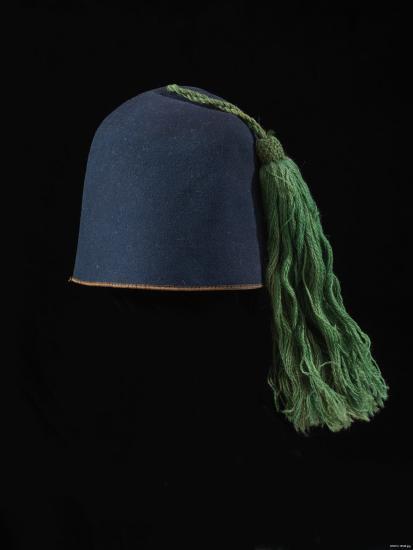 Civil War uniform fez of the 164th New York Infantry Regiment