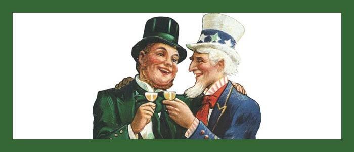 When Irish American eyes are smilin'