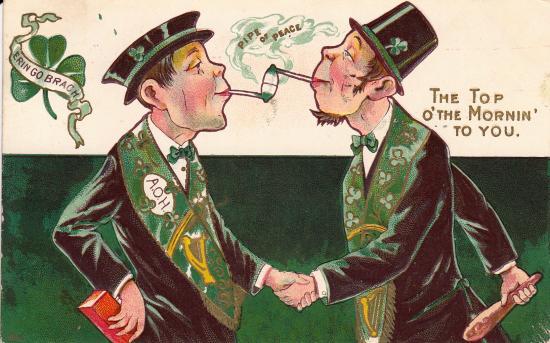 St Patrick's Day Postcard ca 1910