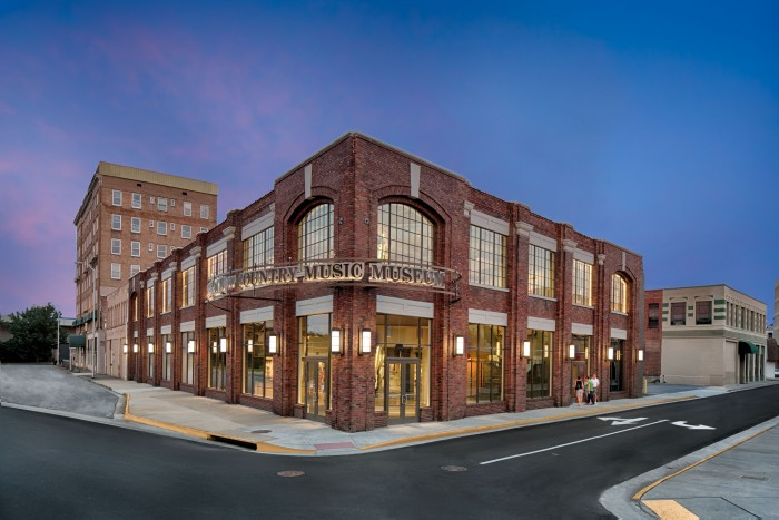 The Birthplace of Country Music Museum. (Photograph by Fresh Air Photo)