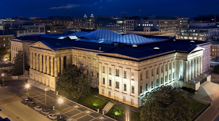After undergoing an extensive renovation, the Patent Office Building was renamed the Donald W. Reynolds Center for American Art and Portraiture in 2006. (Photo courtesy Foster + Partners)