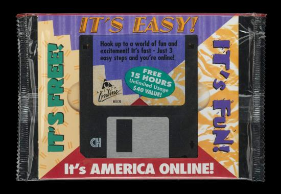 AOL disc
