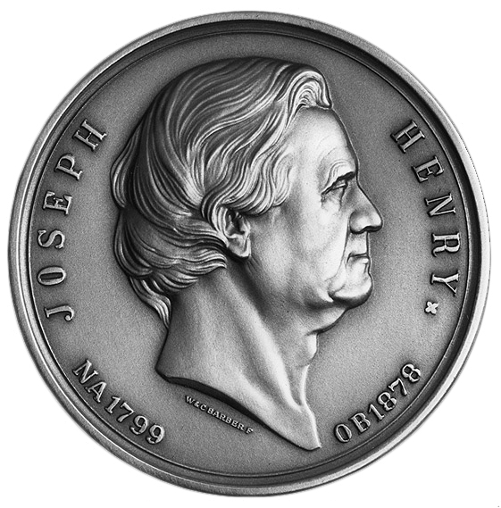 Henry Medal with Henry's profile facing right
