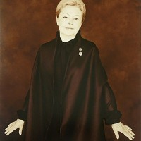 Mathilde Krim by Joyce Tenneson, Inkjet print, c. 2000 (printed 2014), National Portrait Gallery, Smithsonian Institution; gift of amfAR, The Foundation for AIDS Research