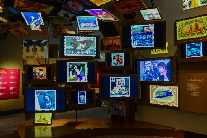 Named after its primary benefactor, the William H. Gross Stamp Gallery is the world's largest gallery dedicated to philately. It provides an experience available nowhere else and offers something for everyone, from casual visitors to experienced collectors.