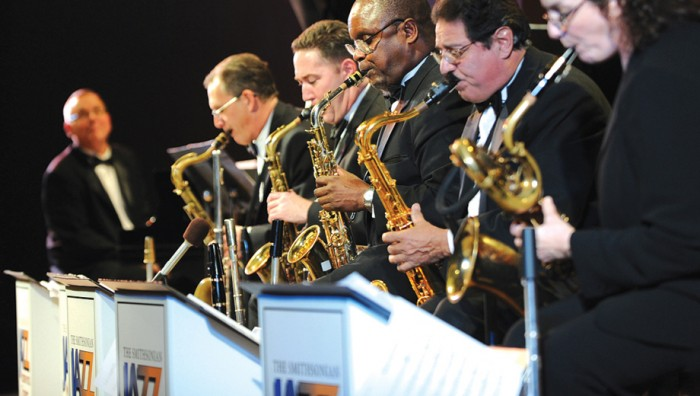 Dr. Skorton will perform with the Smithsonian Jazz Masterworks Orchestra Oct. 17.