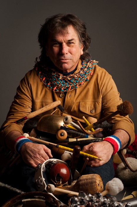 """The Mickey Hart Collection from Smithsonian Folkways preserves and furthers the Grateful Dead percussionist's endeavor to cross borders and expand musical horizons. Six of the 25 albums in the collection form the """"Endangered Music Project,"""" a collaboration between Mickey Hart and the American Folklife Center at the Library of Congress, which presents recordings from musical traditions at risk."""