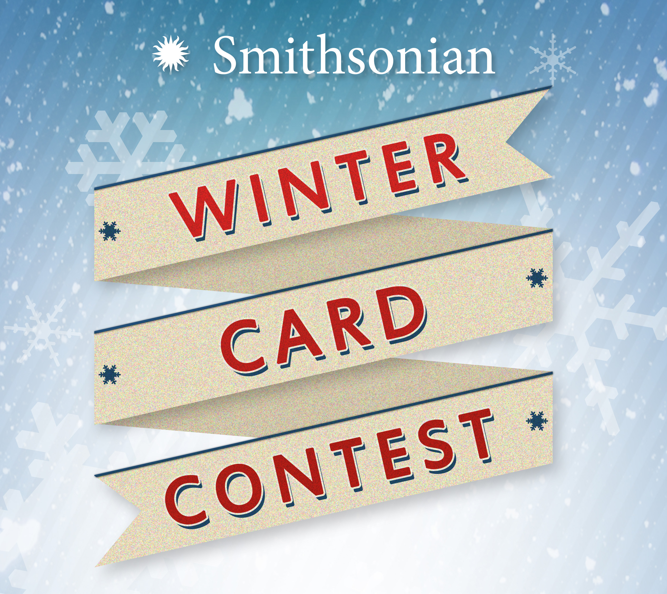 Winter Card Contest poster