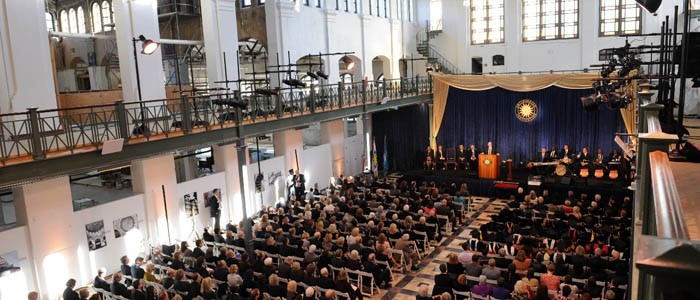 Dr. David Skorton is installed as 13th Secretary of the Smithsonian