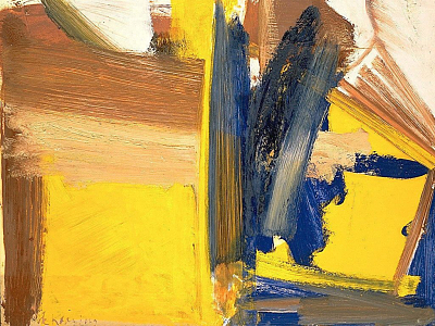Untitled (1959) Willem de Kooning, American, b. Rotterdam, The Netherlands, 1904–1997 Oil and pencil on paperboard, 23 1/16 x 29 1/16 in. (58.6 x 73.8 cm) Hirshhorn Museum and Sculpture Garden, Smithsonian Institution, Washington, DC, Gift of Joseph H. Hirshhorn, 1966