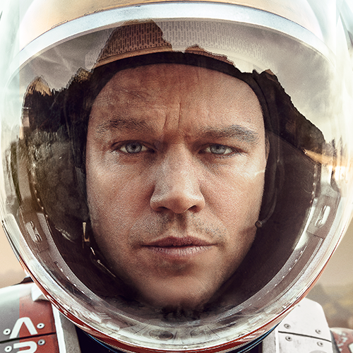 Life found on Mars! (Never mind, it's only Matt Damon.)