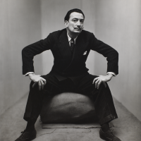 Irving Penn, Salvador Dali, New York, 1947, Smithsonian American Art Museum, Gift of the artist. Copyright © The Irving Penn Foundation