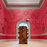 Jennifer Angus, In the Midnight Garden, 2015 Renwick Gallery of the Smithsonian American Art Museum Photos by Ron Blunt